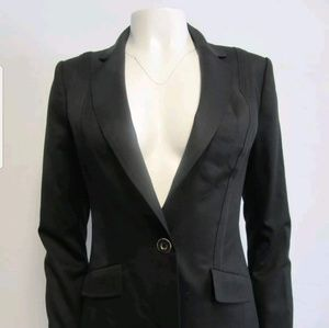 Ted Baker Wool Blend Black Blazer size 1